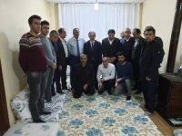 Başkan Epcim'den Tan ve Özdinç ailesini ziyaret