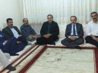 Başkan Epcim, Zirek, Gültekin ailelerini ziyaret etti