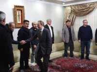 Başkan Epcim, Tunç ailesine konuk oldu