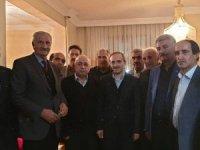Başkan Epcim, Erdoğan ailesine misafir oldu