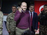Bakan Soylu yeni yıla askerlerle birlikte girdi