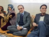 Başkan Epcim'e ev ziyaretlerinde yoğun ilgi