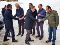 Başkan Epcim'den Kahraman ailesini taziye ziyareti