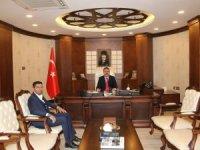 Başkan Çiftçi'den Vali Akbıyık'a ziyaret