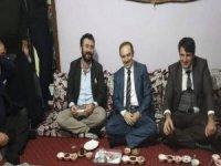 Başkan Epcim'dan Cindioğlu ve Kurt ailesine ziyaret