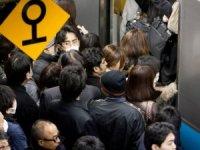 Japonya'da trendeki yoğunluğa sıra dışı önlem