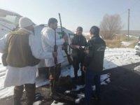 DKMP ekiplerinin kaçak avcı mesaisi