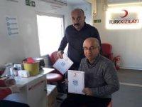 Hakkari'den kök hücre kampanyasına destek
