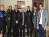 Hakkari polisinden şehit ailelerine ziyaret
