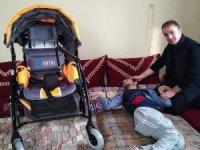 Engeli Çocuğa Engelli Puseti Yardımı Yapıldı