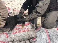 Kömür torbalarında 69 kilo esrar ele geçirildi