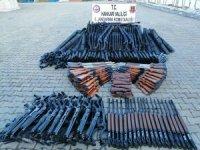 396 adet av tüfeği ele geçirildi