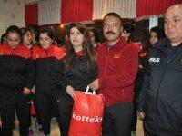 Bakan Soylu'dan kadın sporculara destek!