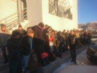 15 kişilik minibüsten 34 kaçak göçmen çıktı