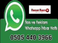 Hakkari Haber Tv  Whatsapp hattı
