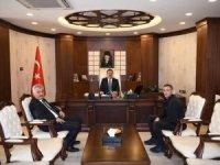 THK Başkanı Kahraman'dan Vali Akbıyık'a ziyaret