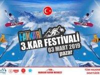 Hakkâri'de 3.kar festivali başlıyor