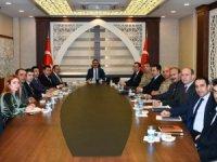 112 acil hizmetleri koordinasyon toplantısı