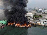 Limanda yangın: 20 tekne yandı