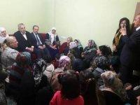 Ak Parti'li Külünk ev ziyaretlerinde bulundu