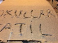 Bitlis'te okullara kar tatili
