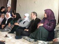 Başkan Epcim, 7 ayrı aileye misafir oldu