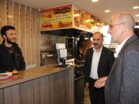 HDP'li Şık Hakkari'de esnafı ziyaret etti