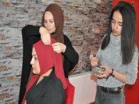 Kuaförlere saç tasarım eğitimi verildi