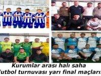 Hakkari'de yarı final maçları başlıyor