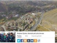Başkan Epcim seçim klibi, durmak yok yola devam