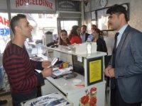 CHP Başkan adayı Koparan esnafa projelerini anlattı