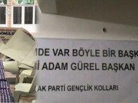 AK Parti Seçim Bürosuna silahlı saldırı