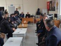 Çukurca'nın AK Parti'li başkanı tebrikleri kabul etti