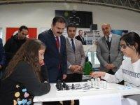 Satranç yarışması il birinciliği sona erdi...