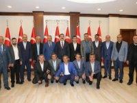Başkan Demirci'den Vali Akbıyık'a ziyaret