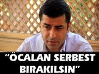 "Öcalan serbest bırakılsın"""