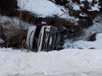 Durankaya yolunda trafik kazası