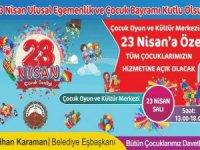 Belediye'den çocuklara özel etkinlik