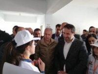 Başkan Gür, Esender'de ziyaretlerde bulundu