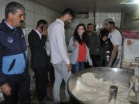Yüksekova'da ekmek fabrikaları denetlendi
