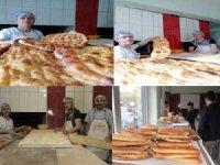 Ramazan Pidesi Çakır fabrikasında alınır