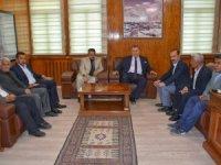 CHP İl Başkanlığı Eşbaşkan Karaman'a tebrik ziyareti