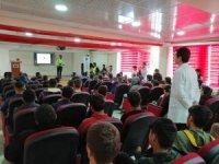 Öğrencilere 'İş Sağlığı ve Güvenliği' eğitimi