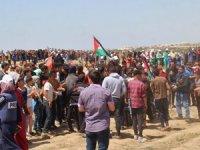Nakbe gösterilerinde 65 kişi yaralandı