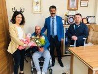 Vedaş'tan engellilere ziyaret