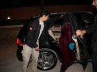 Şehit ailesi Vali makam aracı ile evine bırakıldı