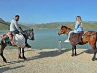 Yüksekova Dilimli barajına ilgi arttı