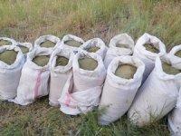 314 kilo 100 gram esrar maddesi ele geçirildi.