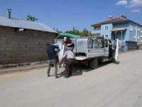 Mahallelere çöp konteynerleri bırakıldı