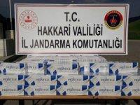 2 bin paket kaçak sigara ele geçirildi...
